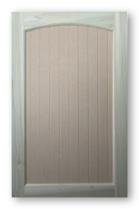 Arch Top Vee Groove Door By Acme Cabinet Doors