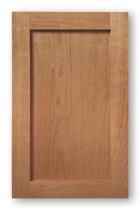 Cherry Solid Wood Shaker Style Cabinet Door